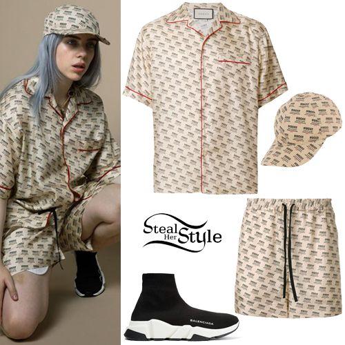 Steal Her Style Celebrity Fashion Identified Her Style Billie Eilish Billie