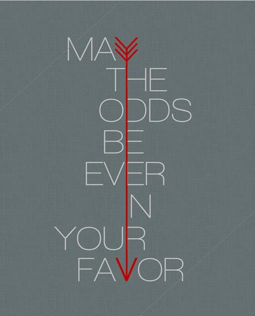 """clever clever. hunger games inspired poster by etsy shop """"tentinytoesdesigns"""""""