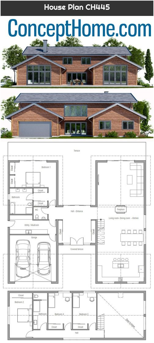 House Plan Ch445 In 2020 House Plans South Africa House Plans House Plans Farmhouse
