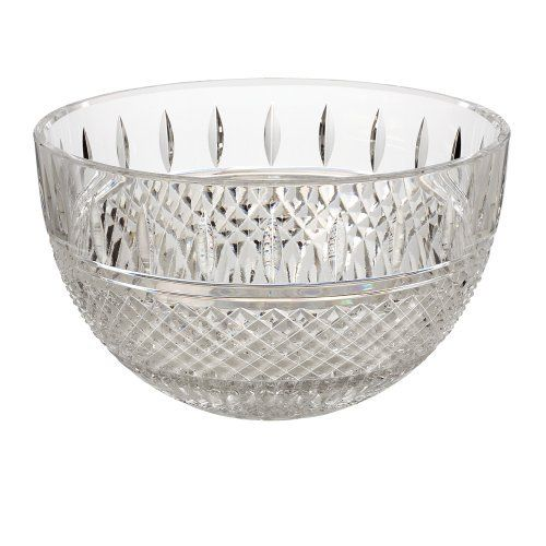 Waterford Irish Lace 6-Inch Bowl by Waterford Crystal. Save 13 Off!. $140.00. Material: crystal. Irish lace. 6-Inch bowl. In the 19th century, Irish lace was renowned the world over for its elaborate designs and fine workmanship. This legacy has given inspiration for the Irish Lace Collection by Waterford, which is characterized by an elegant pattern of cuts reminiscent of fine Irish lace. Whether you use it to serve nuts or candy, or display a tealight or candle, the Irish La...