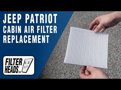 How To Replace Cabin Air Filter 2016 Jeep Patriot Cabin Air Filter Jeep Patriot Jeep
