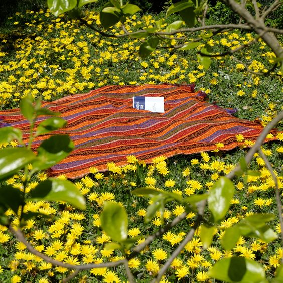 Tissu ethnique Batys, à utiliser comme nappe, dessus de lit... Très doux et très lumineux ! #tissu #textile #fabric #ethnique #ethnic #home #decoration #deco