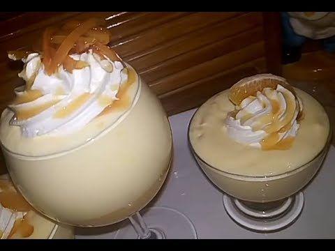 مطبخ أم أسيل موس البرتقال المنعش Mousse Orange Youtube Desserts Food Cuisine