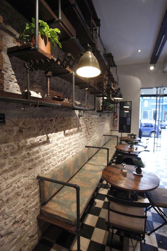 Proyectos de interiorismo en cafeterías.
