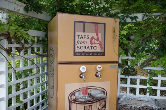 Portable Beer Keg Service - look in to this