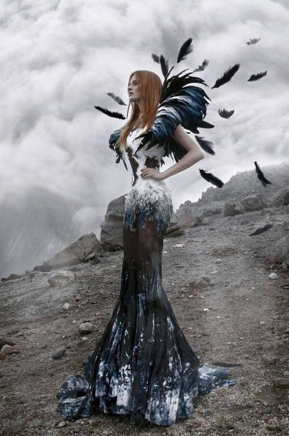 ♥ Romance of the Maiden ♥ couture gowns worthy of a fairytale - Feather Couture