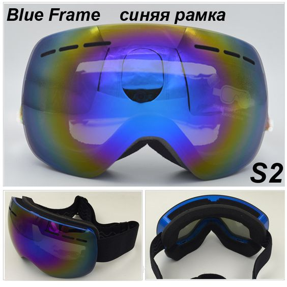 oakley goggles cheap  Best Ski Glasses Double Layer Lens UV 400 Anti-fog Ski Goggles ...