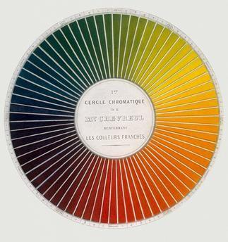 1. er cercle chromatique (…) les couleurs franches