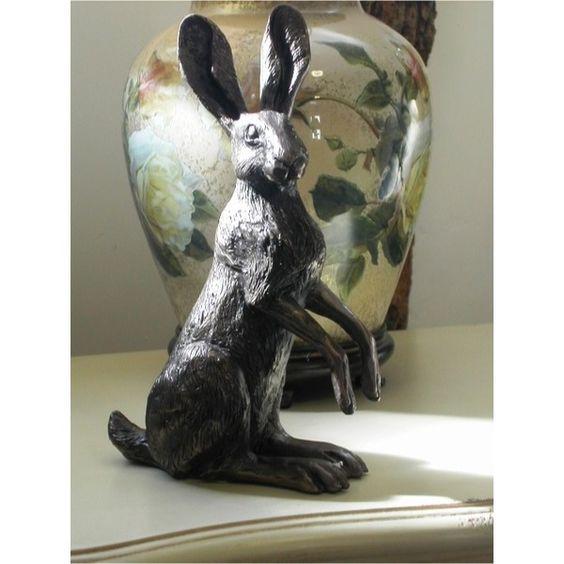 Poppy Standing - Bronze Hare - Bronze Hares - Bronzes
