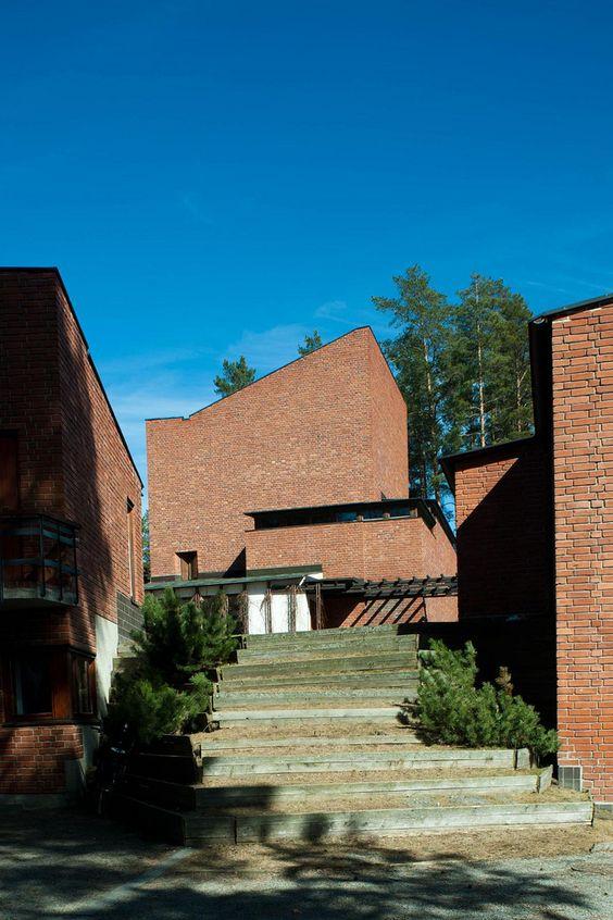 Säynätsalo Town Hall Jyväskylä Finland Alvar Aalto 1949 2011-04-19~20