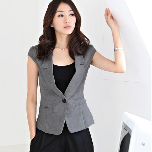 Short Sleeve Blazers For Women