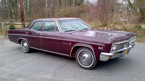 1966 Chevrolet Impala 4 Door Factory 396 Big Block You Tube Video Original 73k Image 1 Chevrolet Impala Impala
