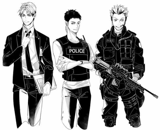 Police captains *-*