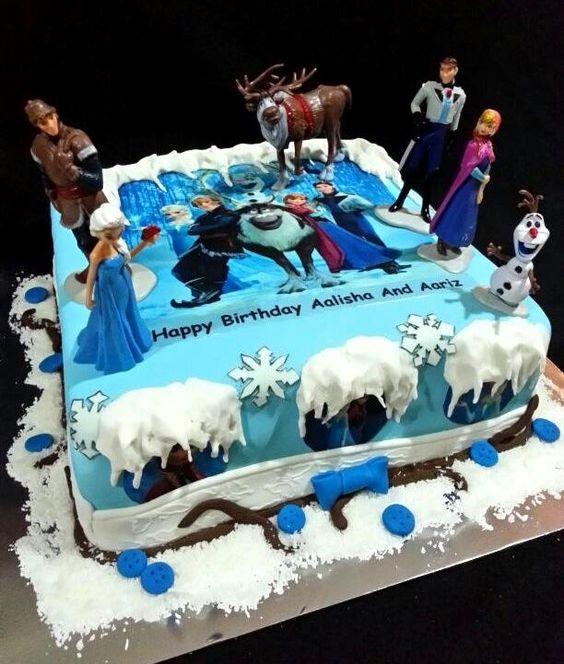 Frozen Birthday Cake, Frozen Birthday And Frozen Sheet