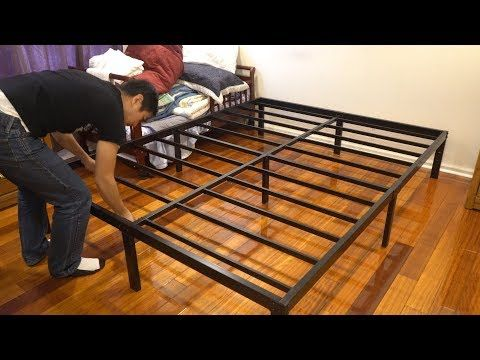 Noah Group Megatron Metal Bed Frame Assembly And Review Queen