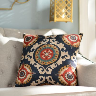 Kirklands Throw Pillow Covers : Products, Navy and Pillows on Pinterest