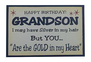 happy birthday grandson quotes