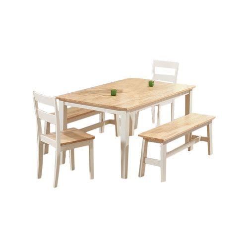 Found it at Wayfair.co.uk - Beecher Falls Dining Table and 2 Chairs and 2 Benches