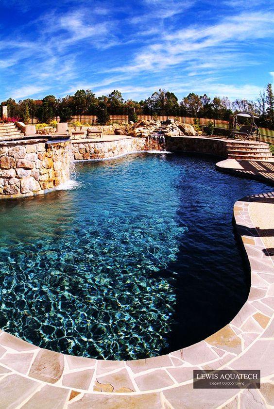 Beautiful Backyards And Bath On Pinterest