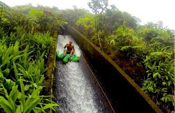 19 Hawaii Adventures: Ride nature's waterslide on the Big Island: