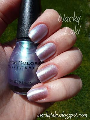 Sinful Colors - Let Me Go (lavender-green duochrome) by itself | Wacky Laki