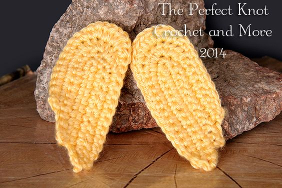 Amigurumi Wings : Knit patterns, The ojays and Wings on Pinterest