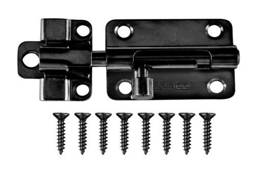 Barrel Bolt Lock Secondary Security Lock For Home Indoor Outdoor Use Bolt Lock Barrel Zinc Plating