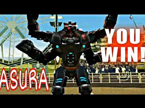 Asura Real Steel World Robot Boxing Vs Biowar And Tackle Metro