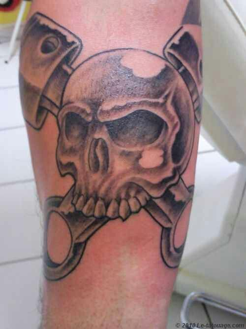 piston tattoo tattoos and body art and skulls on pinterest