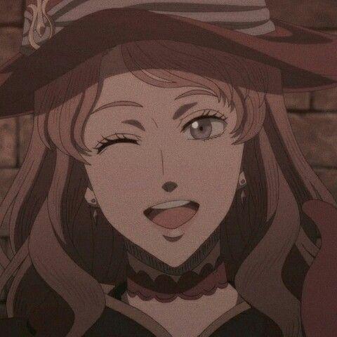Vanessa Enoteca Icon Black Clover Anime Anime Films Aesthetic Anime