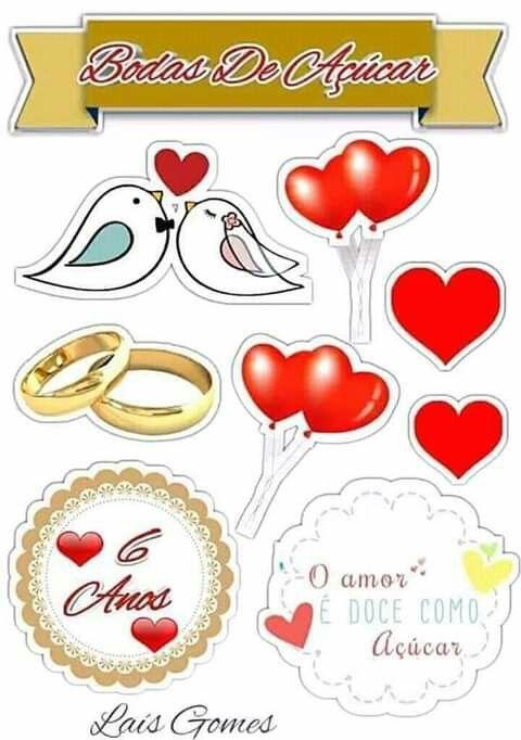 Topo Bodas De Acucar Ideias Para Aniversario De Casamento