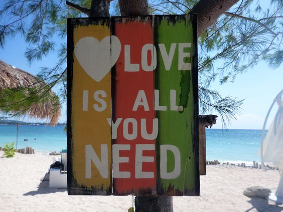 Indonesia, Gili Air, All you need is love