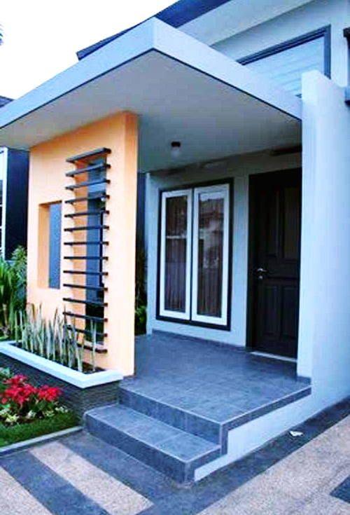4 Desain Dan Model Tiang Teras Rumah Minimalis Masa Kini Rumah Tiang Desain Rumah Dekorasi Rumah Pedesaan