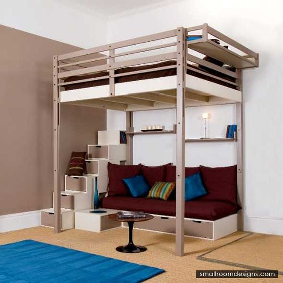 Ideas to select best loft beds for adults http www - Small beds for adults ...