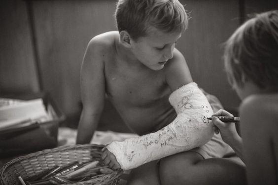 Elle documente l'été déconnecté de ses enfants à la campagne dans de très jolies…