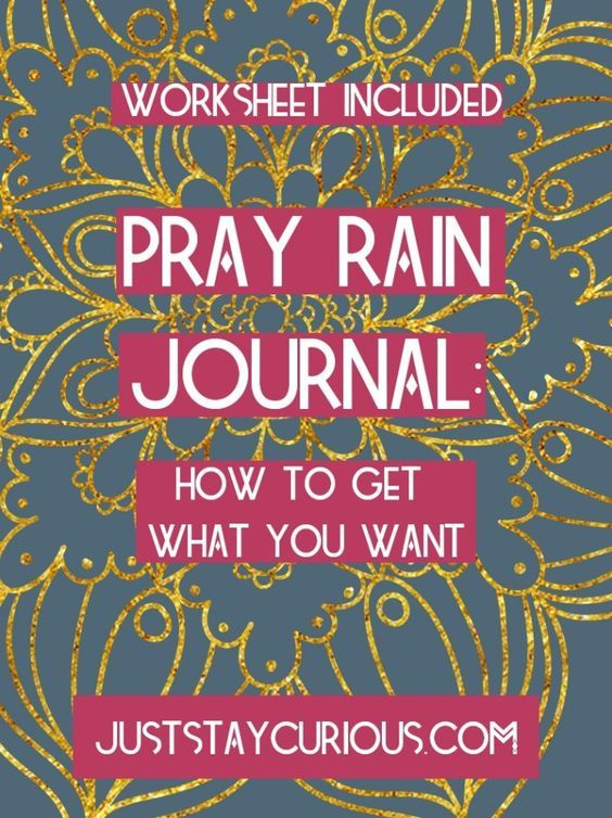 Use a pray rain journal to manifest the life you want by practicing mindfulness and gratitude.