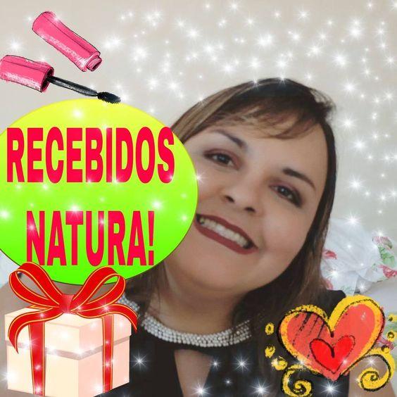 RECEBIDOS DA NATURA!