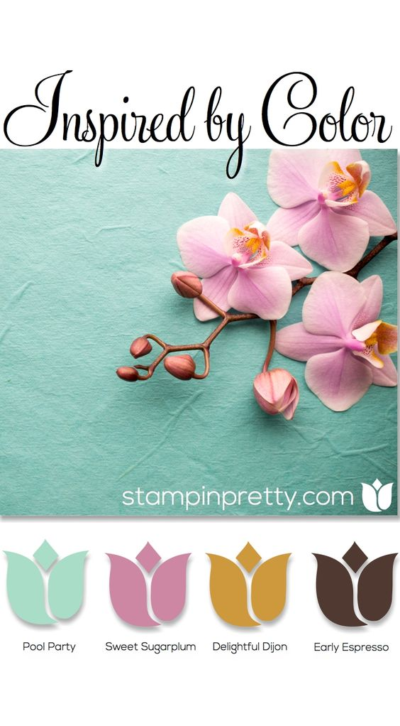 Mixing color is a passion for me on my card making & paper crafting blog, stampinpretty.com. These beautiful Stampin' Up! color ideas inspire crafts, home decor, fashion & more.:
