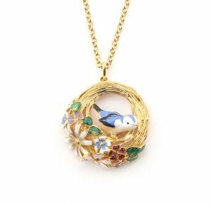 Hedgerow Bird Nest Necklace