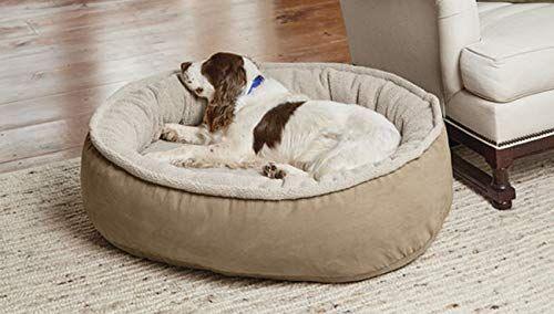 Orvis Memory Foam Wraparound Dog Bed With Fleece Medium Dogs 40 60
