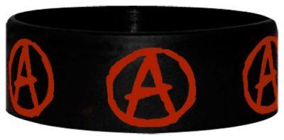 Image de Bracelet Caoutchouc ANARCHY - Symbol