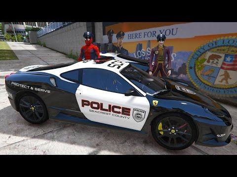 Joker Polis Oldu Orumcek Adamla Ferrari Polis Arabasi Cizgi Film Gibi Yeni Bolum Youtube 2020 Joker Ferrari Lightning Mcqueen