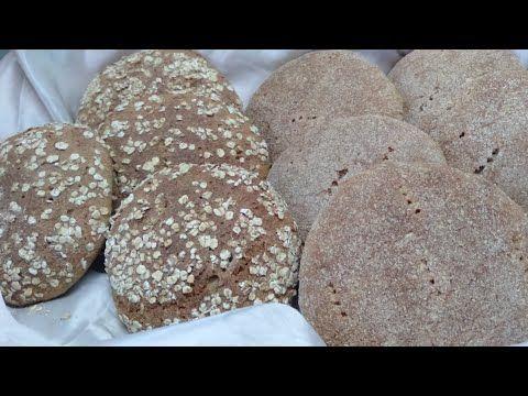 خبز دقيق القمح الكامل بالخميرة البلدية بطريقة اختمار جد سريعة وناجح 100 Youtube Food Bread