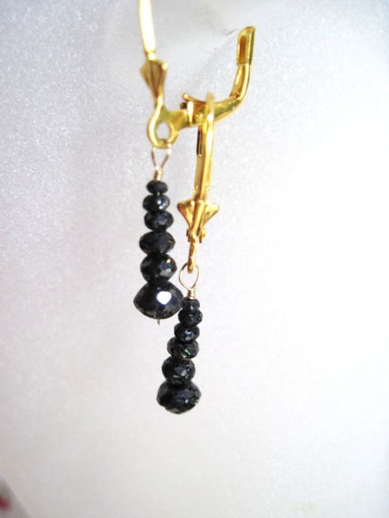 30 to 40 Carats Black Faceted Rough Hand Cut by Created2Inspire, $690.00