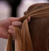 How to: French Braid Hair (video & step-by-steps)