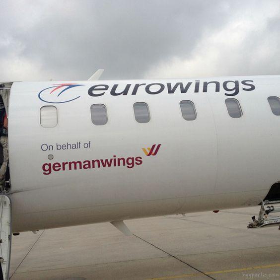 Mit Germanwings (Eurowings) von Stuttgart nach Bilbao