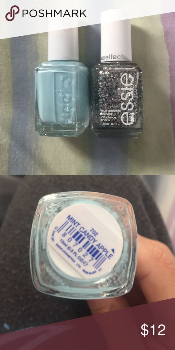 Essie nail polish set! Mint candy apple Essie nail polish in mint ...