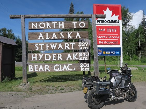 Nick Sanders in Alaska