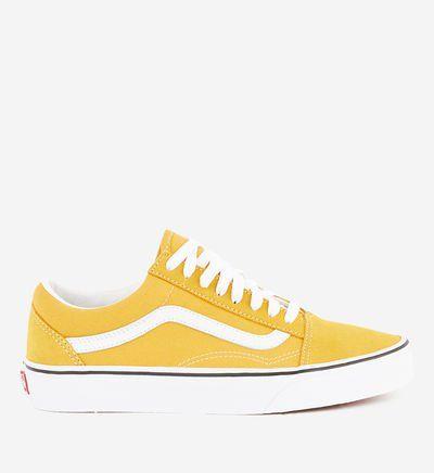 Vans Tennis basses Old School en 2020 | Basket jaune, Vans jaune ...