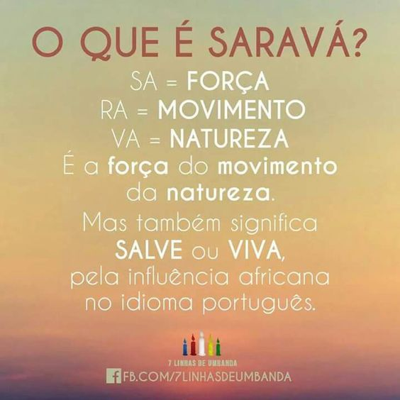 O que é Sarava?